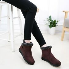 Women Warm Snow Shoes Cotton Lineing Winter Ankle Boots Soft Sole