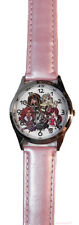 Monster High Group Pose Genuine Leather Band Wrist Watch