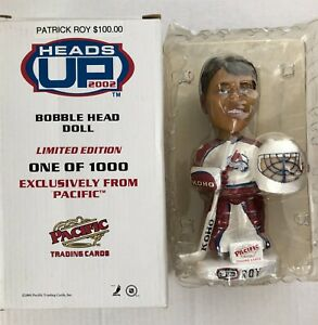 2001-02 Pacific Heads Up Bobble Heads #2 Patrick Roy