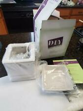 SCENTSY Design it yourself Full Size Sq White Warmer Customize NEW in Box