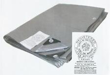 10' x 30' Silver Fire Retardant Heavy Duty 12 mil Poly Tarp * Free Shipping *