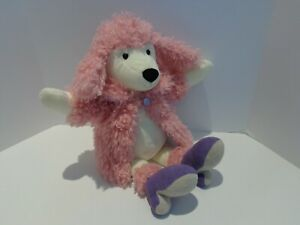 Jellycat London Poodle with Pink Coat and Heels