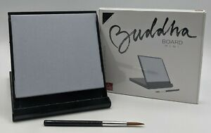"""Buddha Board Mini 5"""" Black Achieve ZEN by practicing the ART of IMPERMANENCE New"""