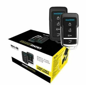 Crimestopper RS4-G6 Remote Start w/ Keyless Entry and Trunk Release 1500' Range