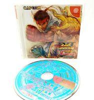 Sega Dreamcast - Street Fighter III W Impact  - Complete - NTSC-J Video Game