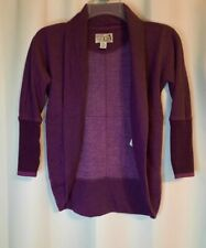 Roots cabin canada Purple Sweater kids Size small 5-6yrs RN89323