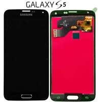 LCD DISPLAY TOUCH SCREEN Per SAMSUNG Galaxy S5 G900F NERO VETRO SCHERMO