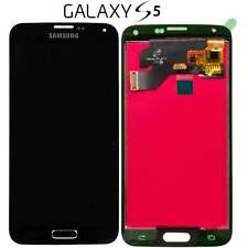 LCD DISPLAY TOUCH SCREEN Per SAMSUNG Galaxy S5 G900F NERO VETRO SCHERMO