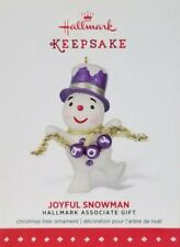Hallmark Keepsake - 2015 Joyful Snowman Hallmark Associate Gift Ornament