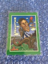 Oddbodz Green Footy Card Rare Magic Hot Trading Card Maccaroo Afl Mega
