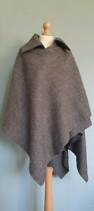 Vivienne Westwood Red Label Asymmetric Tweed Wool Cape / Shawl One Size