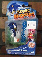 Sonic Boom SONIC & AMY Action Figure NEW Tomy Hedgehog