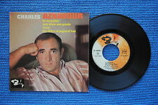 CHARLES AZNAVOUR / EP BARCLAY 70703 / VERSO 2  LABEL 4 / BIEM 1964 ( F )