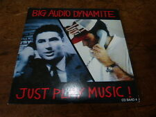 BIG AUDIO DYNAMITE - CD 3 titres / 3 track CD !!! JUST PLAY MUSIC !!!