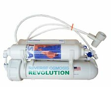 4-stage Portable Counter Top Aquarium RO Reverse Osmosis with DI,50 GPD,USA made