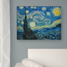 """WANDKINGS Leinwandbild Van Gogh- """"Sternnacht 1889"""""""