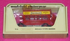Models of Yesteryear Y-23 1922 A.E.C. S Type Omnibus Yellow Schweppes Lesney Box