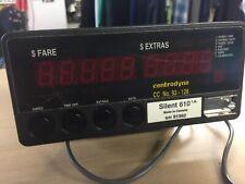 Centrodyne Silent 610 Taxi Cab Meter Canada Made 91392 $ Fare $ Extras CCNO93128
