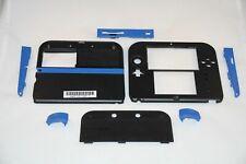 Nintendo 2DS Black & Blue Case/Camera Lens/Stylus/Buttons FULL Housing