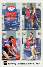 2004 Select AFL Conquest Trading Card  Base Card Team Set Western Bulldogs (13)