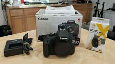 Canon EOS 4000D / Rebel T100 SLR Digital Camera (Body Only) Pre-owned w/ Box