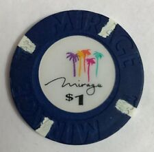Mirage Las Vegas $1 Casino Chip Obsolete OBS 1st issue