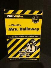 Cliffs Notes on Woolf's MRS. DALLOWAY Brand NEW