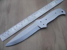 "8.50"" hand made big hunting spring steel (5160 steel) knife blank blade"