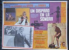 A SHOT IN THE DARK Peter Sellers Elke Sommer 1964 PORTRAIT LOBBY CARD # 3 N MINT