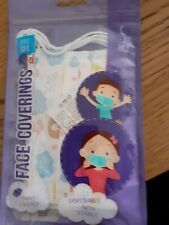 Kids Disposable Face Coverings 2 x 5 packs