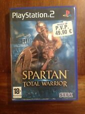 SPARTAN : TOTAL WARRIOR  PS2 - PLAY STATION 2  Usado, completo