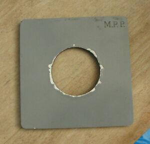 later orginal MPP mk 8 VIII fit lens board for compur copal  1 41.6mm hole