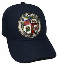 City Of Los Angeles Hat Color Navy Black Adjustable