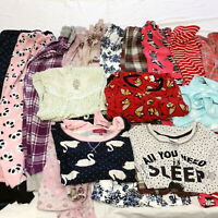 Womens Small XS Pajamas Lot Pants Tops Housecoat Sleepwear 15 Pieces