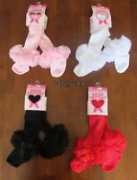 BABY TODDLER GIRL  TUTU TIGHTS SPANISH STYLE SOFT FRILLY CHRISTENING 0-12 MONTHS
