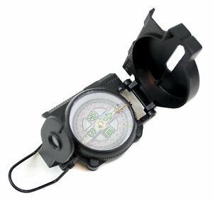 Peilkompass Marschkompass Flüssigkeitsgedämpft Militärkompass 203409 Armee