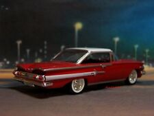 1960 60 CHEVY IMPALA COUPE 1/64 SCALE COLLECTIBLE DIECAST MODEL - DIORAMA