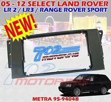 METRA 95-9404B DOUBLE DIN DASH KIT FOR LAND ROVER LR2 / LR3 / RANGE ROVER SPORT