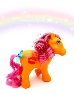 ⭐️ My Little Pony ⭐️ G1 Vintage Euro Sweet Kisses Candy Kisses Beautiful!