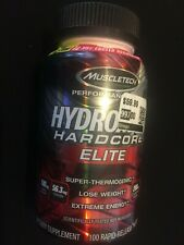 MuscleTech Hydroxycut Hardcore Elite Thermogenic*100 Capsules*Lose Weight*11/21