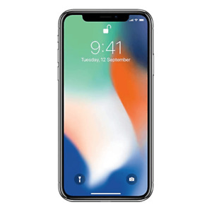 APPLE Iphone X 64Go Argent Reconditionné comme neuf