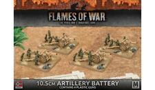 Flames of War GBX91 - Afrika Korps 10.5cm Artillery Battery