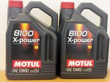 8,98 €/L Motul 8100 X-Power 10w-60 2 x 5 LTR para Motorsport BMW M, etc.