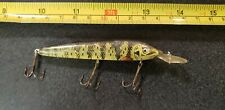 UNKNOWN VINTAGE FISHING LURE NATURAL