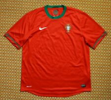 2012 - 2014 Portugal Home Football Shirt by Nike, Mens XL, Camiseta
