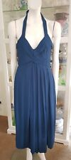 Veronika Maine halter dress.Sz8.Fully lined. Excellent condition