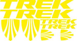 Trek frame stickers decals chrome rainbow bicycle mtb road bike bmx cycle oil sl
