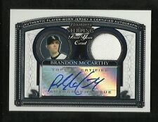2005 Brandon McCarthy - Sterling - Auto and Jersey piece - White Sox/Dodgers