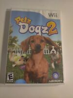 Petz: Dogz 2 (Nintendo Wii, 2007) - Disc and Case - Missing Manual - Tested