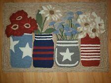 "Liora Manne Frontporch Flowers Rug Americana 24""X36"" FTP23441714"